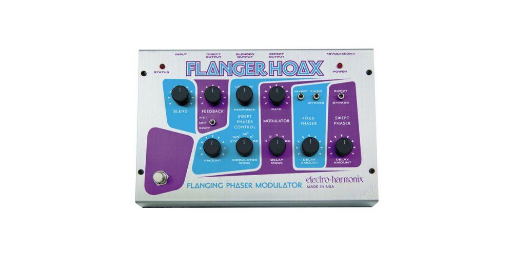 electro harmonix classic flanger hoax 2