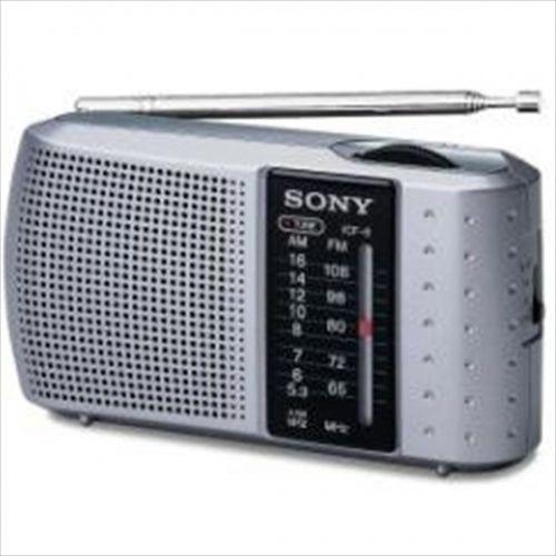 SONY ICF8 Silver Radio