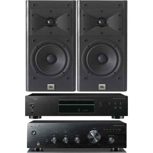 pioneer a10k amplificador pd10ae bk jbl arena120