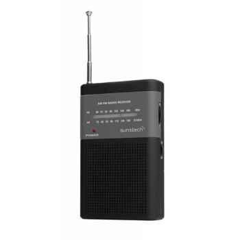 SUNSTECH RPS42 Negro Radio Digital Portátil