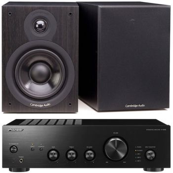 Pioneer A-10AEK + Cambridge SX50-BK