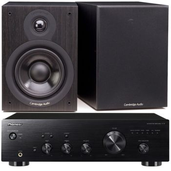 Pioneer A-10K + Cambridge SX50-BK