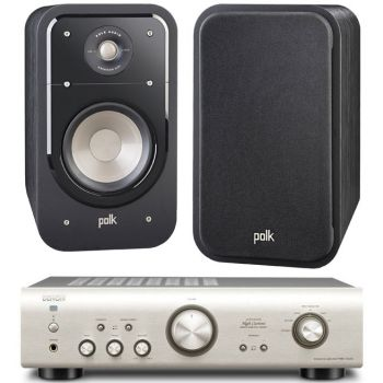 DENON PMA-720 SI+POLK AUDIO S20BK
