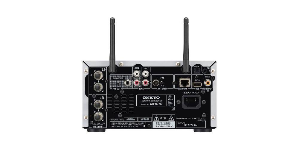 onkyo CRN775S conexiones