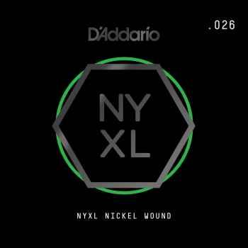 D´addario NYNW026 Cuerda Suelta para Guitarra Eléctrica