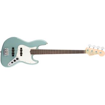 Fender American Pro Jazz Bass Fretless Rosewood Fingerboard Sonic Gray