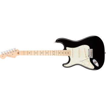 Fender American Pro Stratocaster Left-Hand Maple Fingerboard Black