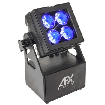 AFX Light MOBI COLOR 4 PROYECTOR RECARGABLE DE LED RGBL, IP65