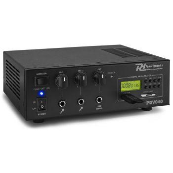 Power Dynamics Pdv040 Amplificador 40w 100v 952046