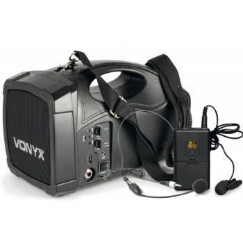 Vonyx ST012 Megáfono con micro inalambrico y bateria