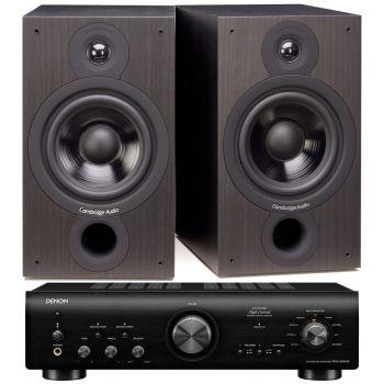 Denon PMA-800AE Black+Cambridge Audio SX60 Black  Conjunto Sonido