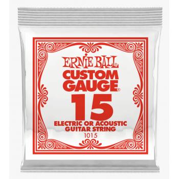 Ernie Ball 1015 Slinky Plana Cuerda Para Guitarra Eléctrica 0.15