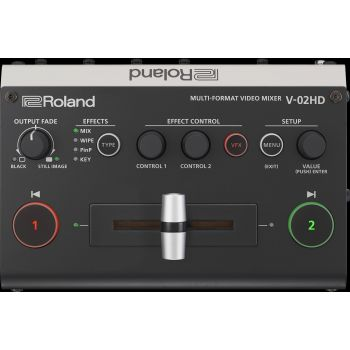 Roland V02HD Multiformat Video Mixer