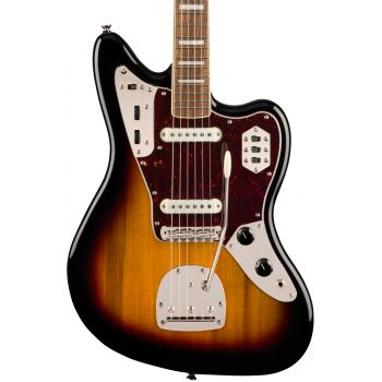 Fender Squier Classic Vibe 70s Jaguar LRL 3 Color Sunburst Guitarra Eléctrica