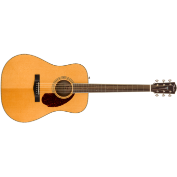 Fender PM-1E Standard Dreadnought Ovangkol Fingerboard Natural con estuche
