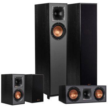 Klipsch R-610F Ebony,Conjunto 2-R610F, R52C, 2-R41 altavoces Home Cinema  5.0