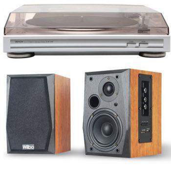 Denon DP29 Giradiscos con Previo + Altavoces Wiibo Neo 50 Bluetooth