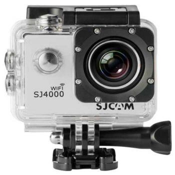 SJCAM SJ4000 Wifi Silver Camara deportiva Plateado 1080 mando a distancia Wifi