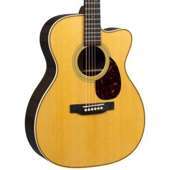 Martin OMC-28E Guitarra Orquesta Electroacústica con Estuche