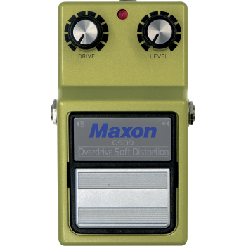Maxon OSD-9 OD Soft Distorsion Pedal Efectos Guitarra