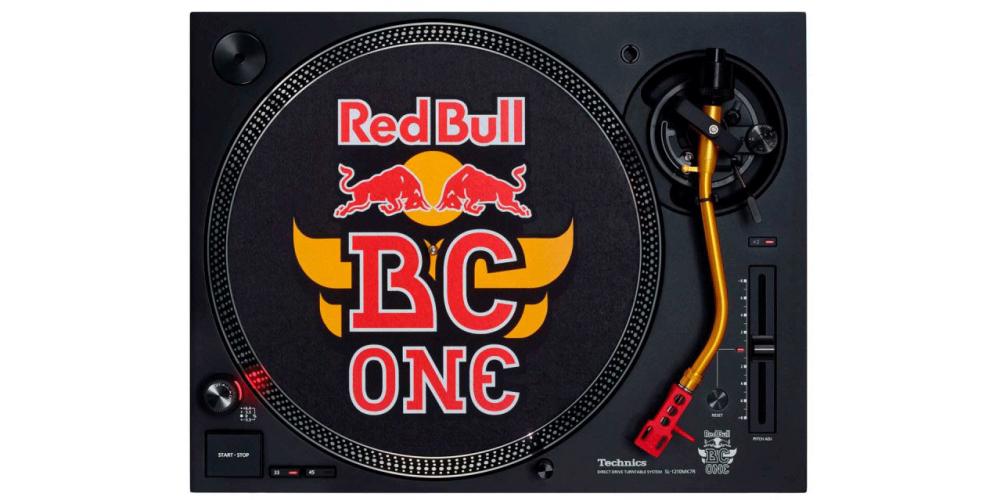 technics SL1210 RED BULL Giradiscos DJ Profesional