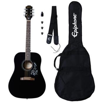 Epiphone Starling Acoustic Guitar Player Pack Ebony Guitarra Acústica