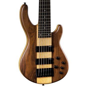 Dean Guitars dge Pro 6 String Walnut Satin Natural. Bajo Eléctrico de 6 Cuerdas