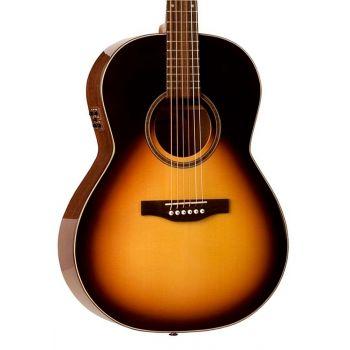 Simon & Patrick luthier Woodland Pro Folk Sunburst HG QIT. Guitarra Acústica