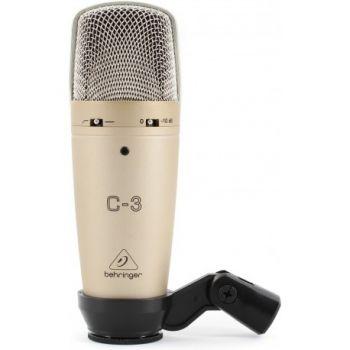 BEHRINGER C3 Micrófono de Condensador Studio