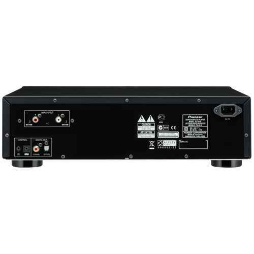 pioneer pd 30 k compact disc panel trasero