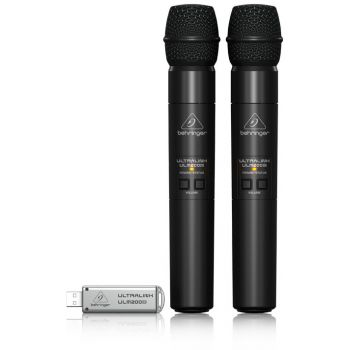 BEHRINGER ULM202 USB Micrófono Digital Doble Wireless
