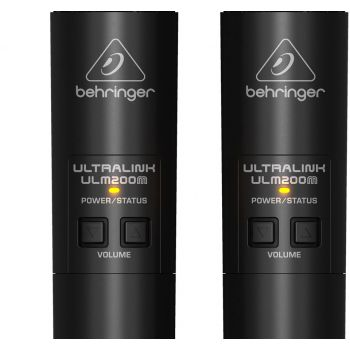 BEHRINGER ULM202 USB Micrófono Inalambrico Doble Wireless