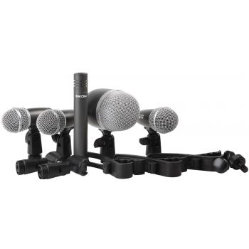 Eikon DMH5XL Kit 5 Microfonos de Bateria By Proel