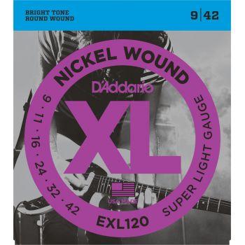 D Addario EXL-120 (009-042) Cuerdas Guitarra Eléctrica