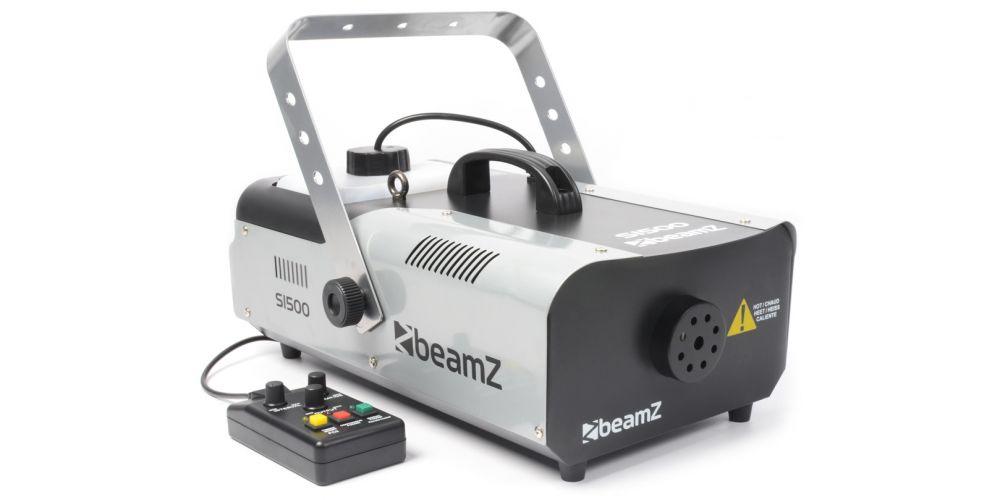 BEAMZ S1500 Maquina de humo DMX con temporizador 160492