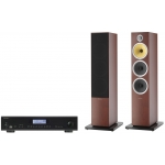 ROTEL A12 Black Amplificador+B&W CM8S2 Rosenut