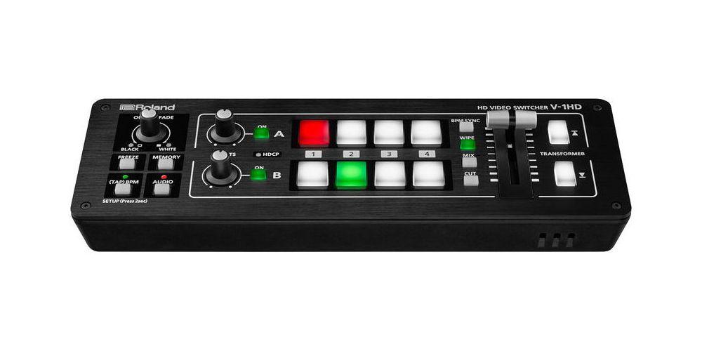 roland v1hd 4ch hdmi video mixer