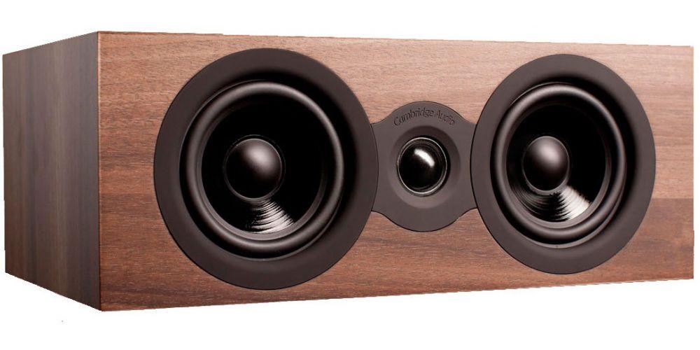 cambridge audio sx70 walnut altavoz central madera