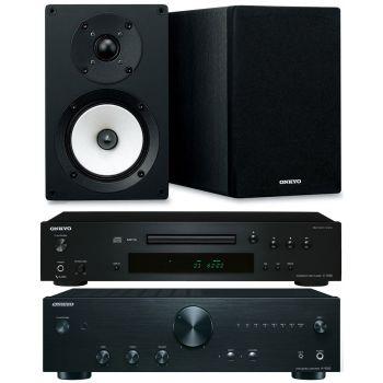 ONKYO A9010-BK+C7030-BK+Onkyo D055 Conjunto Audio
