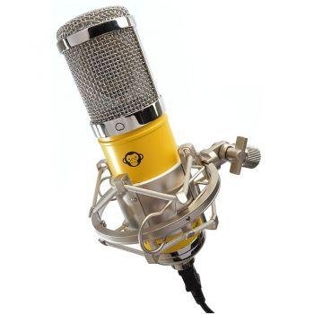 Monkey Banana Hapa Yellow microfono de condensador