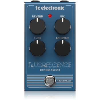 Tc electronic FLUORESCENCE SHIMMER REVERB, Pedal Efectos