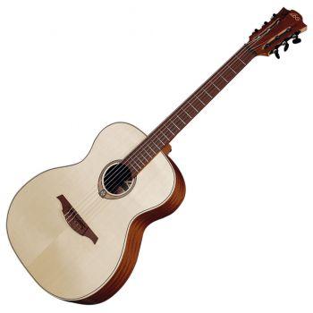 LAG TN70A Guitarra Clásica Auditorium Cuerdas de Nylon