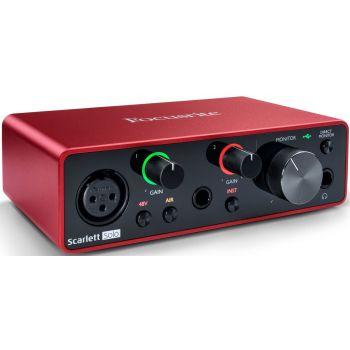 Focusrite Scarlett Solo 3rd Gen Interface Audio