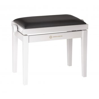 Konig & Meyer 13711 banco Piano Blanco Brillante