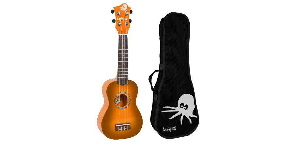 Octopus uk200 rb ukelele soprano naranja