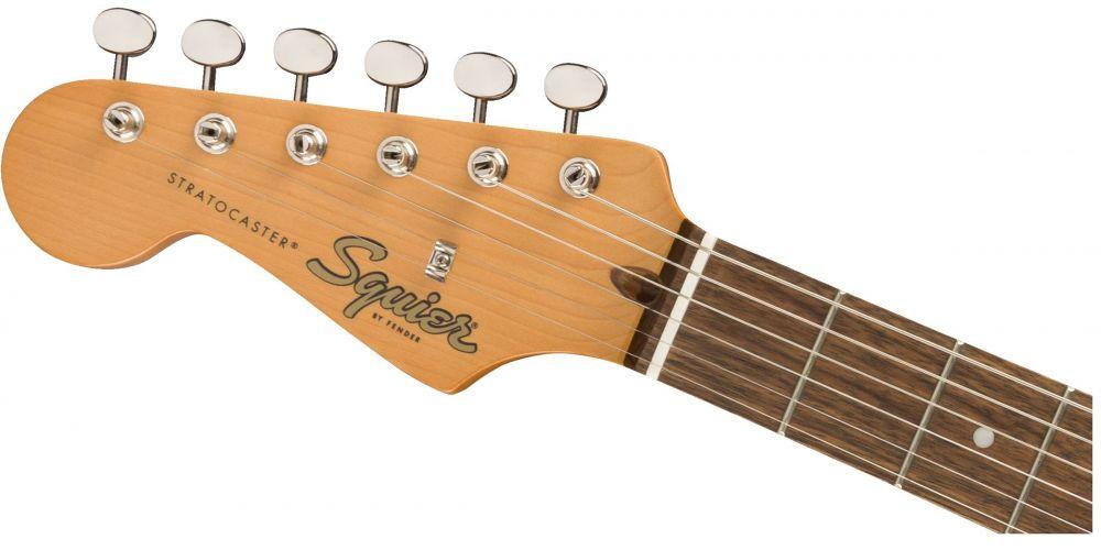 fender squier classic vibe 60s stratocaster lh lrl 3 sunburst mastil