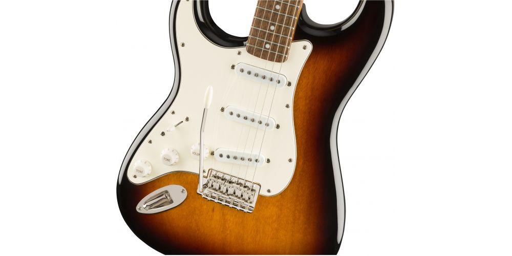 fender squier classic vibe 60s stratocaster lh lrl 3 sunburst tremolo
