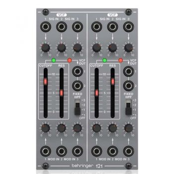 Behringer 121 DUAL VCF Modulo Filtro Sintetizador Eurorack
