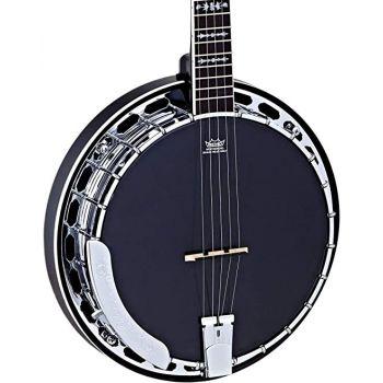Ortega OBJ650-SBK Banjo Satin Black