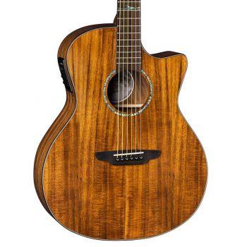 Luna Guitars High Tide Koa Grand Concert CW. Guitarra Electroacústica